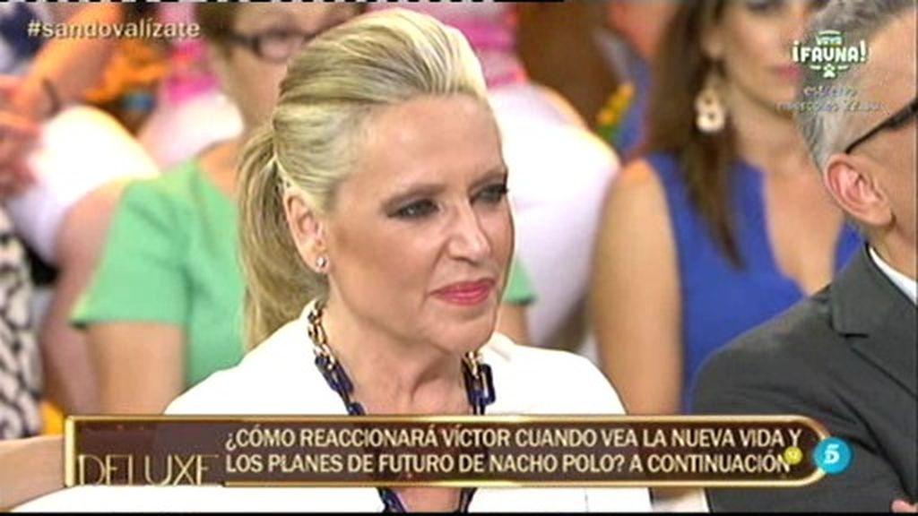 """Víctor Sandoval, dolido con Lydia Lozano: """"Me hubiera gustado mucho ir a la boda"""""""