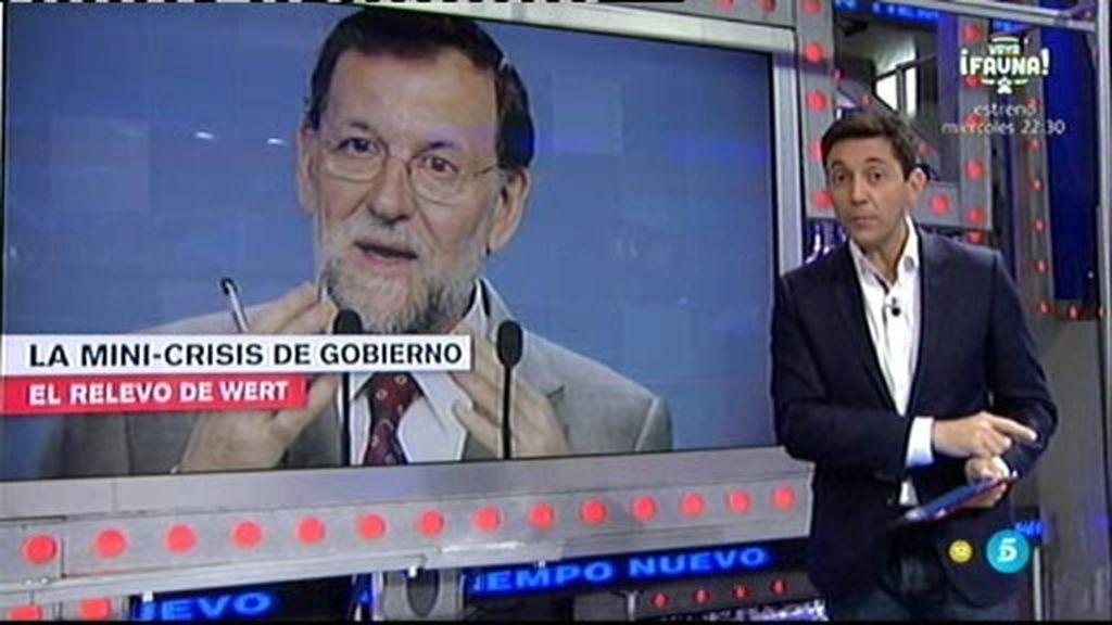 La crisis de Gobierno y la salida del ministro de educación José Ignacio Wert, en 'UTN'