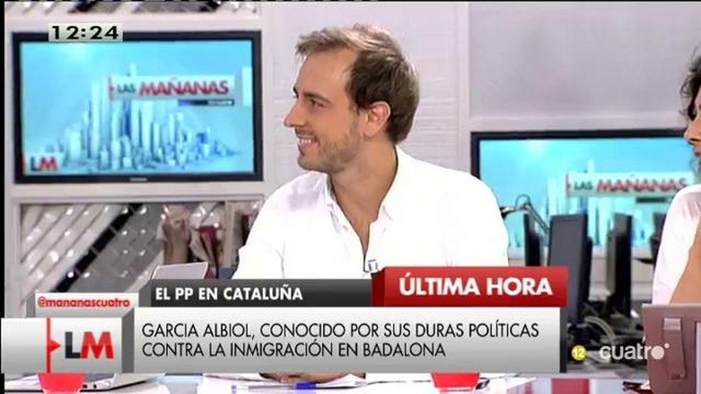 """Javier Dorado, de García Albiol: """"Es un candidato ganador"""""""