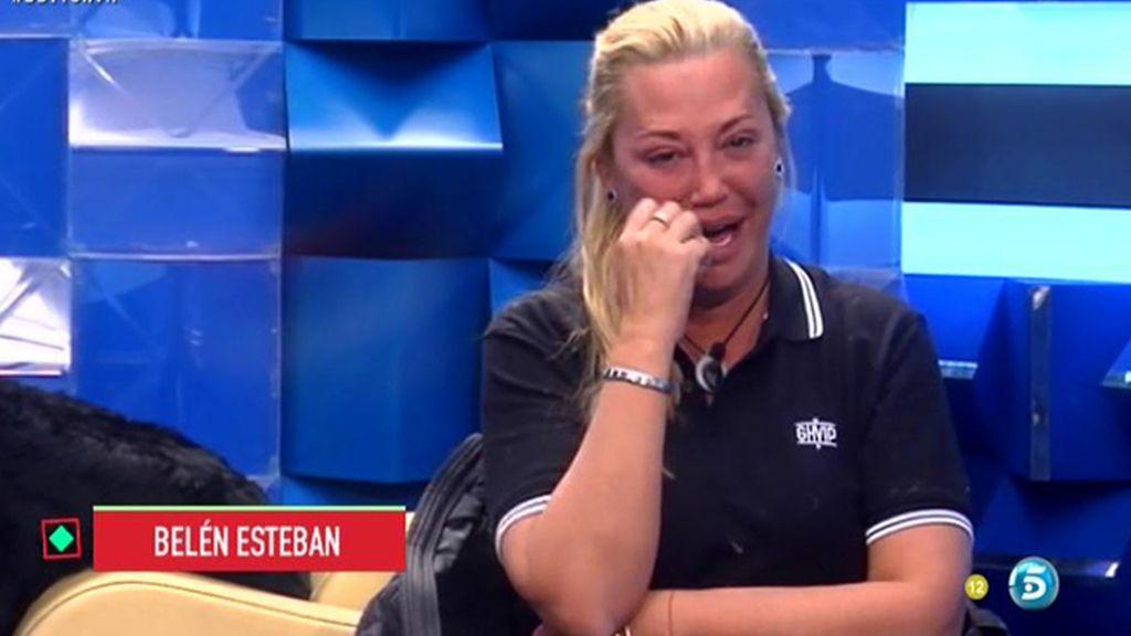 """Belén Esteban: """"Estoy tan agobiada que voy a hacer la maleta y me voy a ir a mi casa"""""""