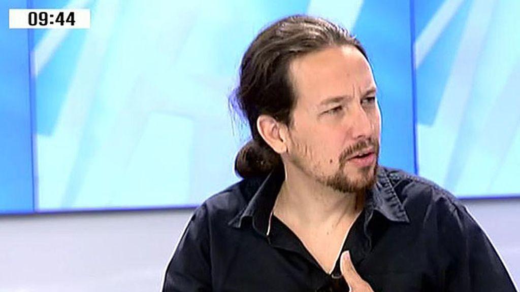 """Iglesias: """"Para que cambie el PSOE es necesario que nosotros estemos por encima"""""""