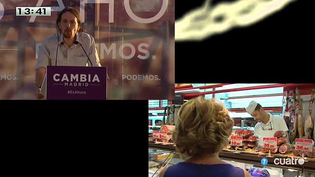 Asín son las campañas de Esperanza Aguirre y Pablo Iglesias