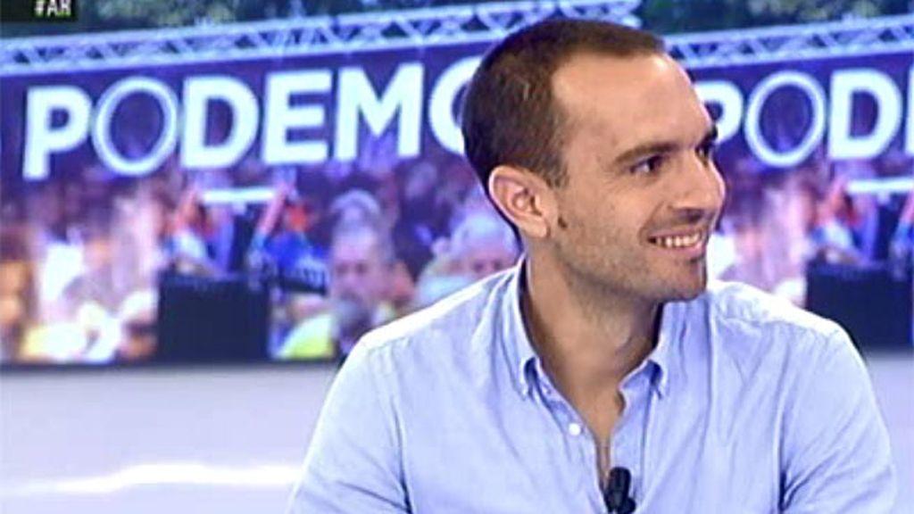 """Luis Alegre: """"Estamos inaugurando el modo de hacer política en el futuro"""""""