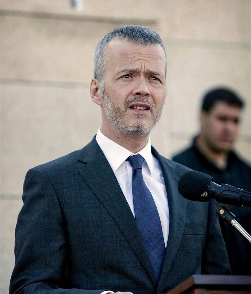 El secretario de Estado de Seguridad, Antonio Camacho. EFE/Archivo