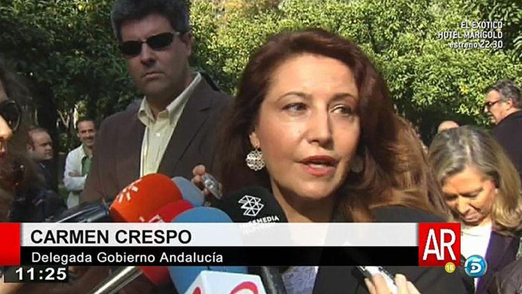 """C. Crespo, delegada del gobierno: """"Pantoja va a tener el mismo trato digno que cualquier interna"""""""