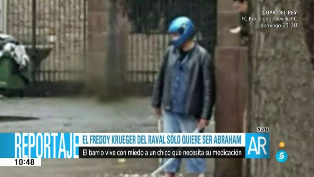 Los vecinos de Barcelona, aterrorizados por el 'Freddy Krueger' del Raval