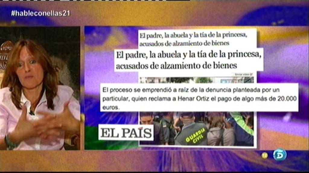 """Henar Ortiz: """"Le debo 22.000 euros a una proveedora"""""""