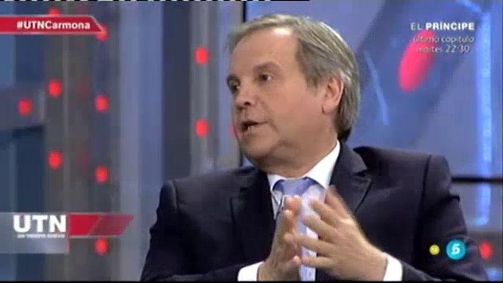 """Antonio Miguel Carmona: """"Creo que Carmena es una gran alcaldesa y la voy a apoyar"""""""