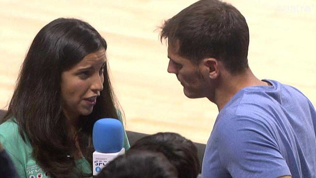 """Casillas: """"Este año no hemos estado afortunados ni en baloncesto ni en fútbol"""""""