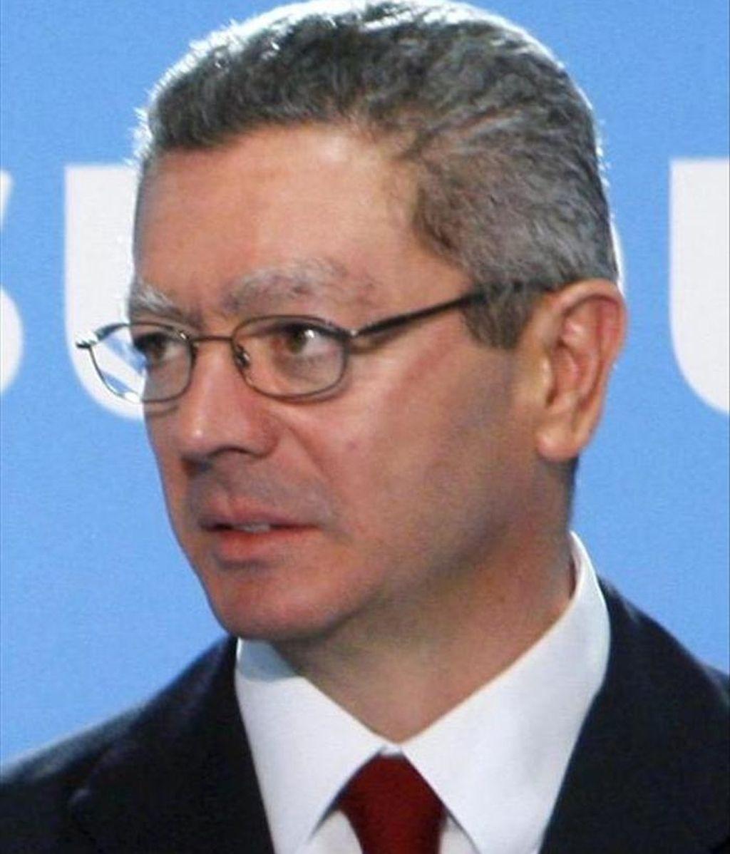 El alcalde de Madrid, Alberto Ruiz Gallardón. EFE/Archivo