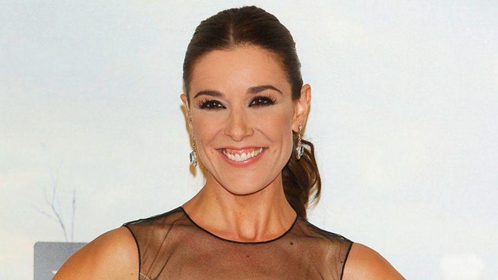 La presentadora de la première, Raquel Sánchez Silva