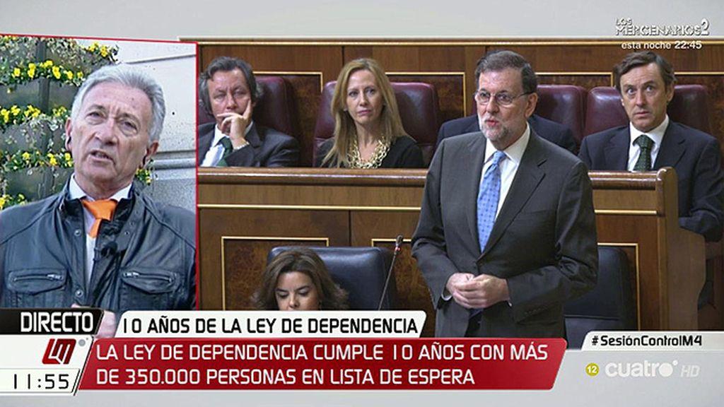 """G. García Herrero: """"Es cuando menos surrealista que tengamos que venir al parlamento a pedir que se cumpla una ley"""""""