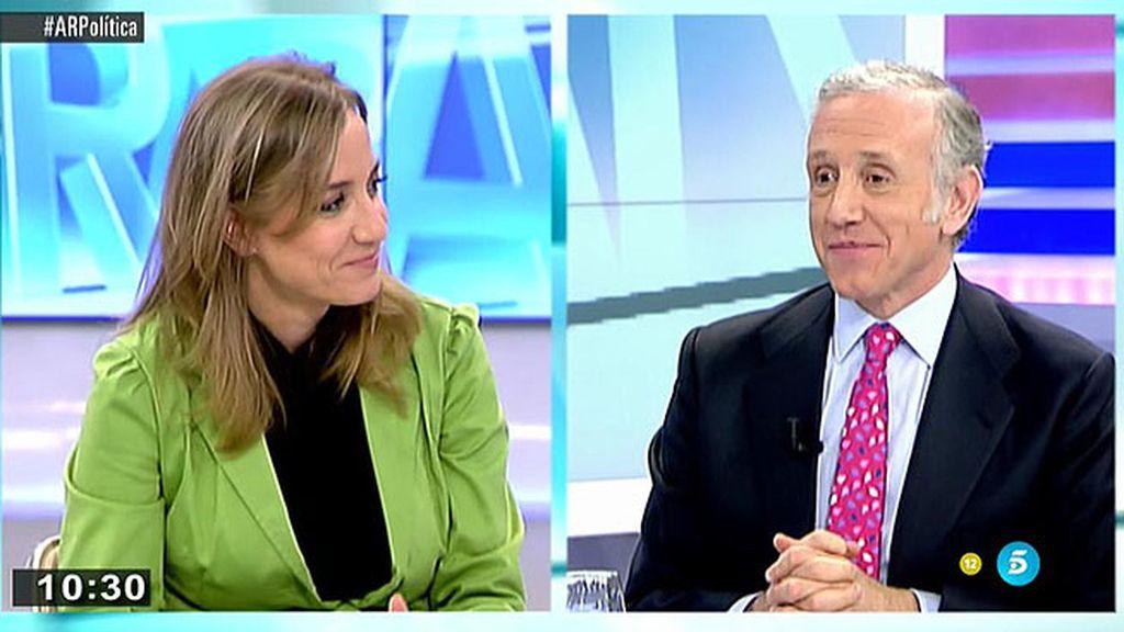 """Tania Sánchez, a Eduardo Inda: """"Tú quieres perderme de vista"""""""