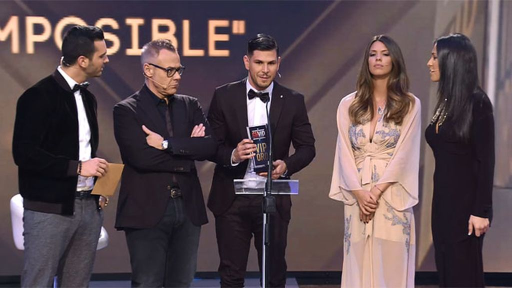 Alejandro y Laura, los ganadores de 'lo nuestro es imposible'