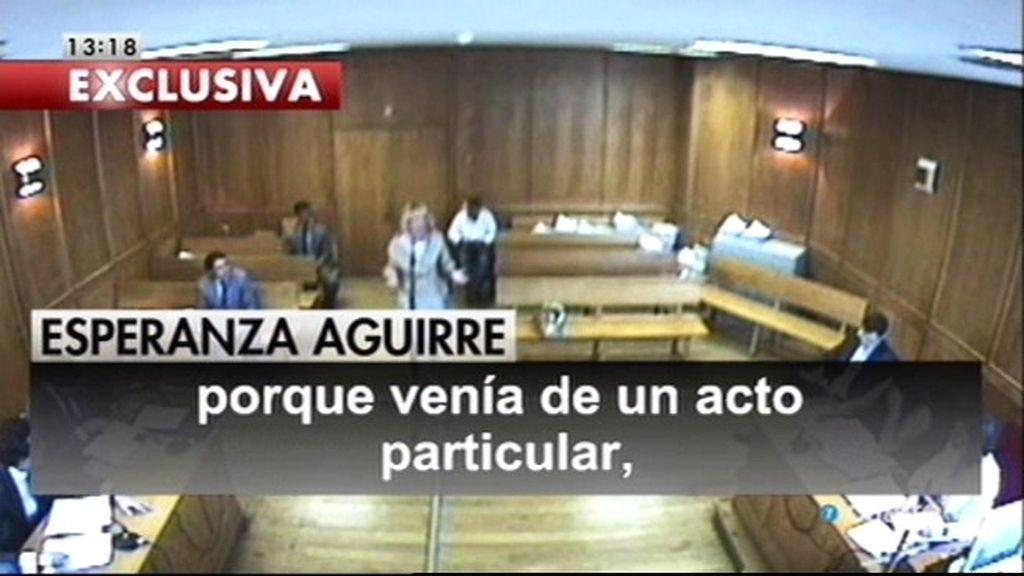La Audiencia de Madrid reordena abrir el caso del incidente de tráfico de Aguirre