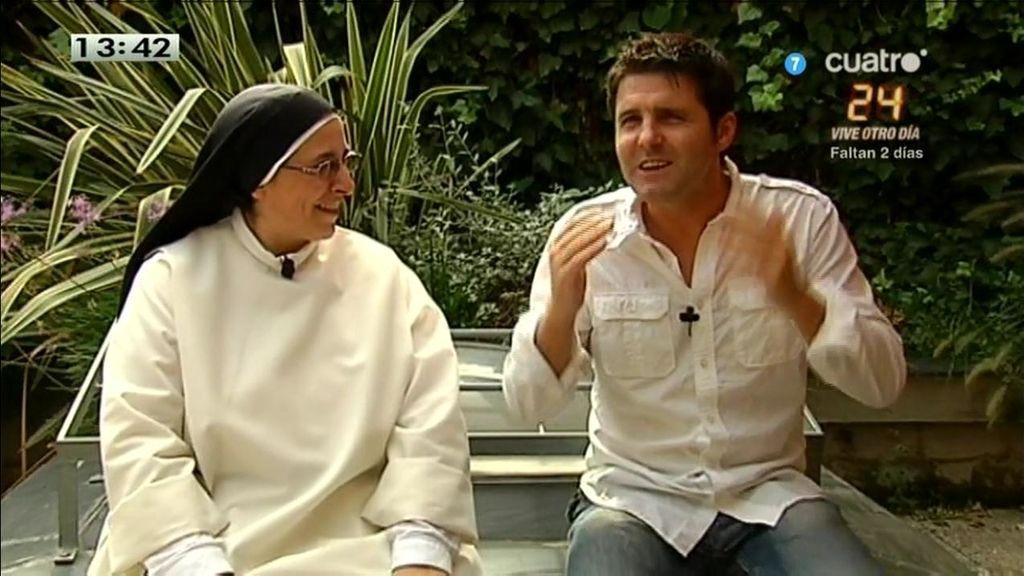 """Sor Lucía pone a dieta a los políticos: """"Montoro, pan y agua; Floriano, medio huevo y un pepino a Soraya"""""""