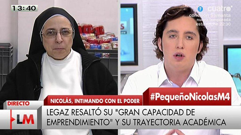 El pique de Sor Lucía y Fco. Nicolás
