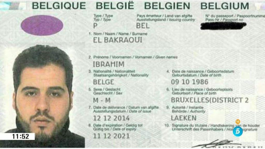 El documento de identidad de Ibrahim El Bakraoui apareció en los registros