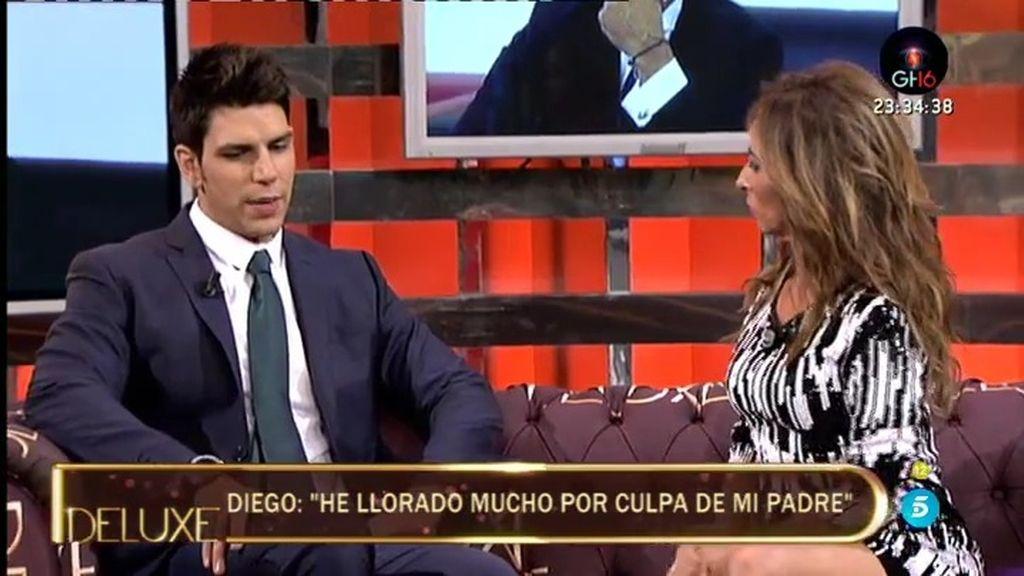 """Diego Matamoros: """"No tengo una sola foto con mi padre"""""""