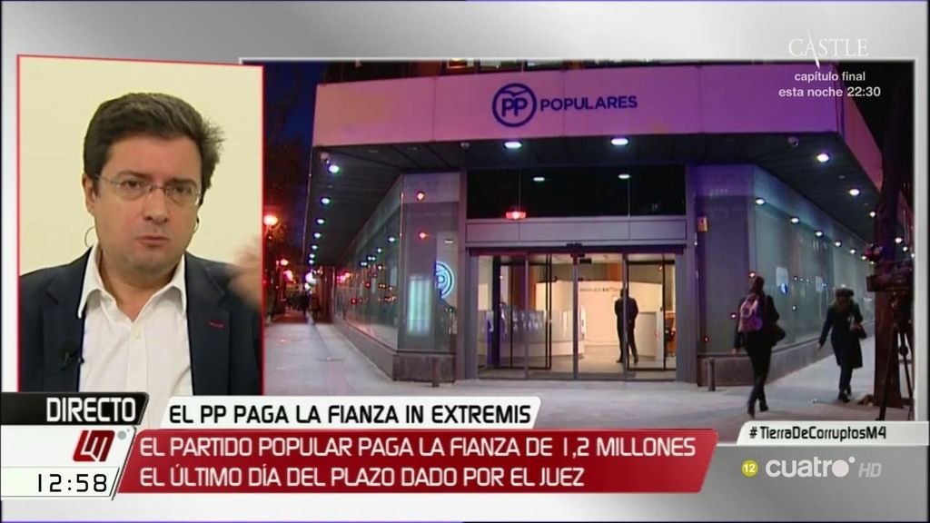 """Óscar López: """"Este es el arranque de campaña del PP, con un partido embargado"""""""
