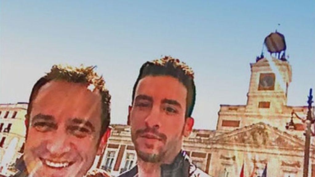 Víctor Sandoval ¿Y su nuevo novio?