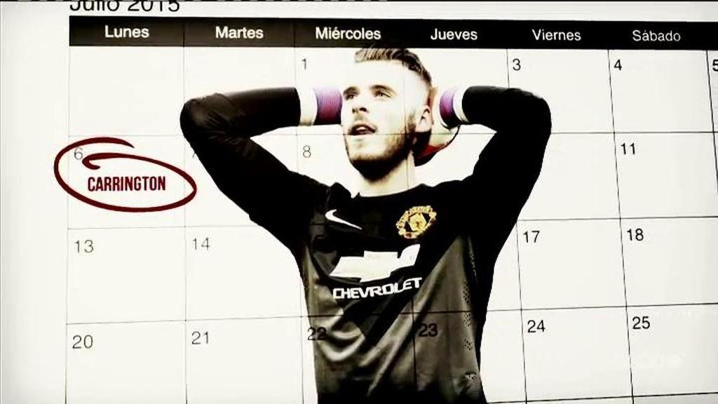 Manchester United Calendario.David De Gea Debe Cumplir El Calendario Del Manchester United