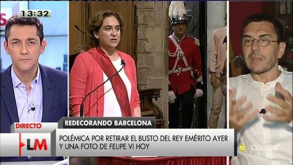"""Juan Carlos Monedero: """"Hay que poner freno a la hipocresía del PP"""""""