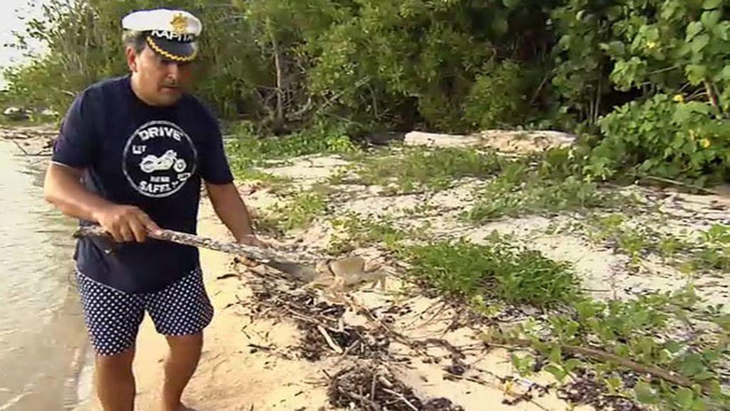 """Joaquín y su día de 'Supervivientes': """"Un gitano también puede estar en la isla"""""""