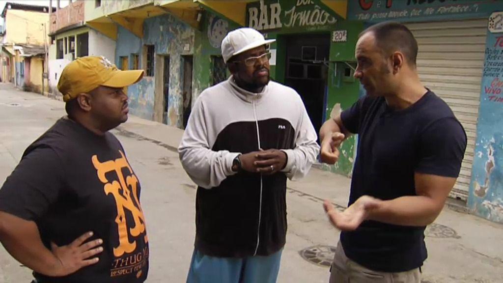 ¿Qué diferencia hay entre una favela pacificada y una sin pacificar?