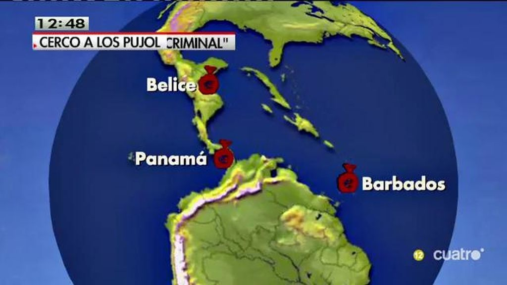 Pujol Júnior movió 2.400 millones desde Andorra a Panamá y 900 a Belice