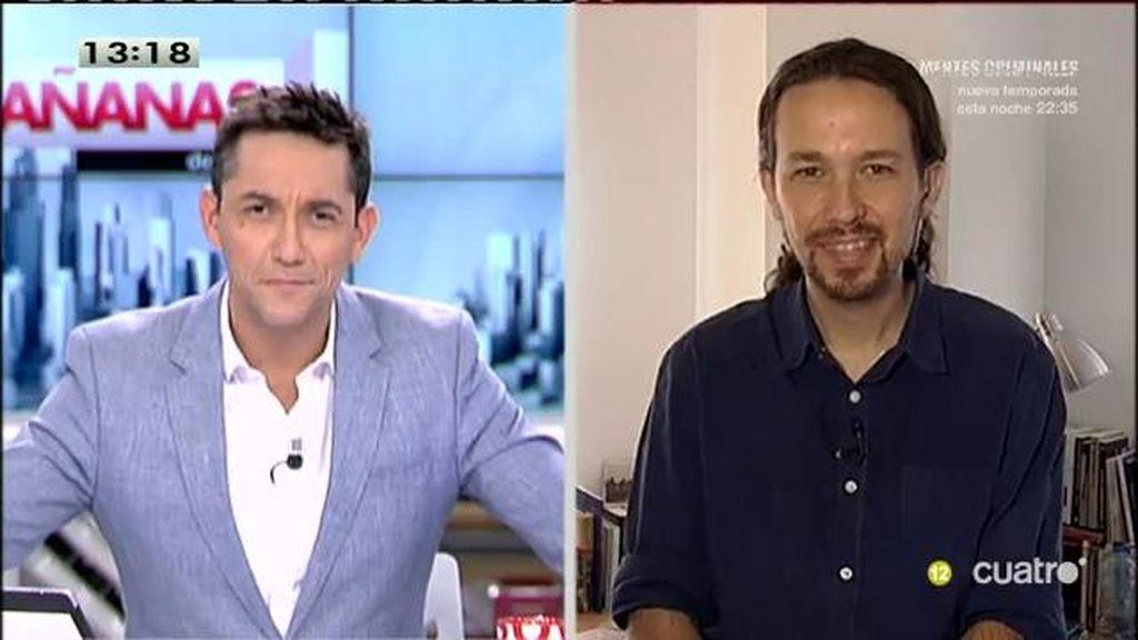 La entrevista con Pablo Iglesias, a la carta