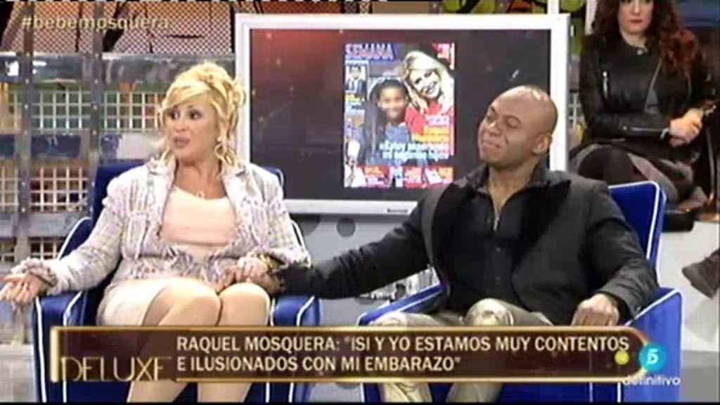 """Raquel Mosquera: """"No me importaría posar embarazada para alguna revista"""""""