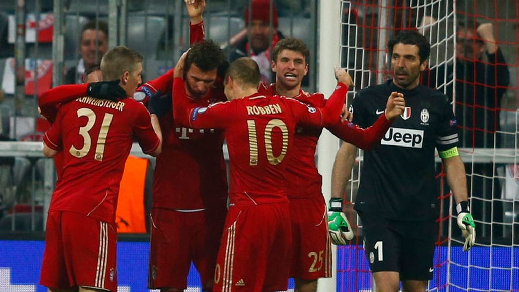 El Bayern golpea primero
