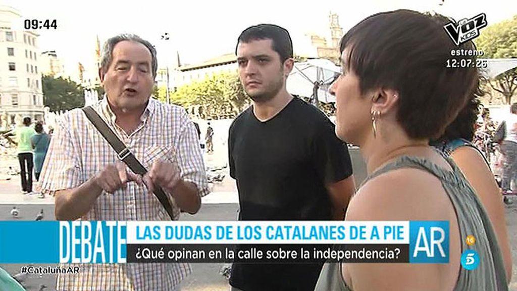 ¿Qué opina la calle sobre la independencia de Cataluña?