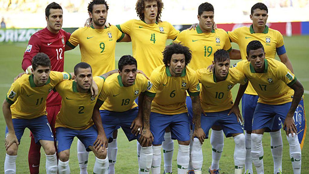 El equipo con el Scolari salió ante Uruguay