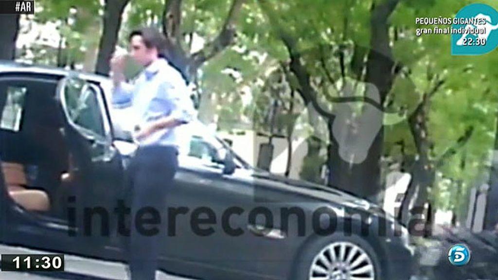 'Pequeño Nicolás', reunido con el abogado de la familia Pujol