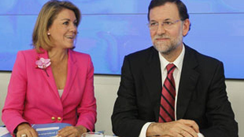 """Mariano Rajoy garantiza """"la lealtad del Partido Popular"""". Vídeo: Atlas."""