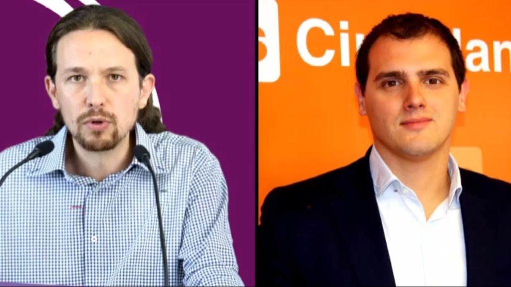 Las propuestas de Podemos frente a las de Ciudadanos