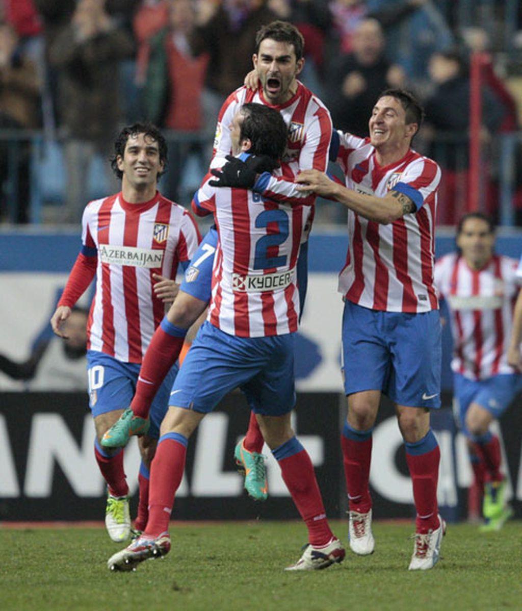 Atlético de Madrid gana al Celta