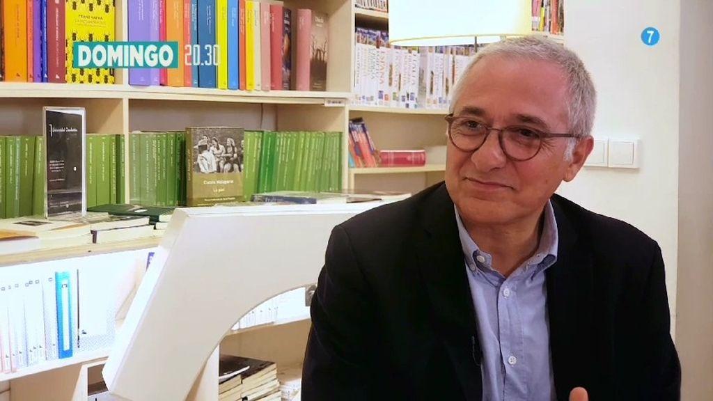 Javier Sardá comparte el entusiasmo por los libros, este domingo en 'ConvénZeme'