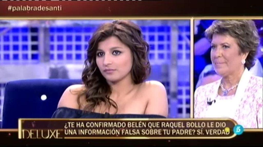 Aguasantas lo confirma en el 'Polideluxe': ¡Raquel Bollo mintió a Belén Esteban!