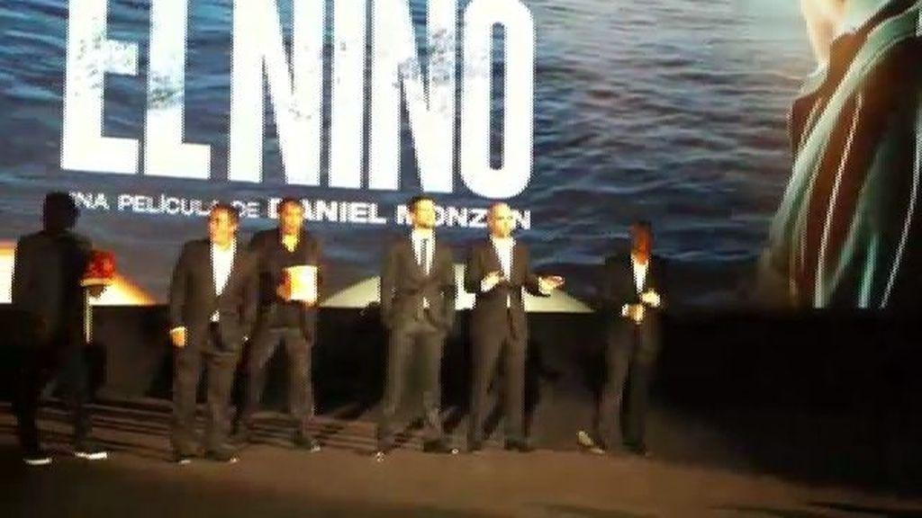 Así presentó Daniel Monzón a los actores de 'El Niño' antes de la premiere
