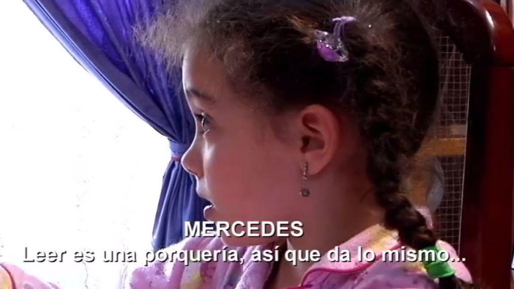 Mercedes no quiere estudiar