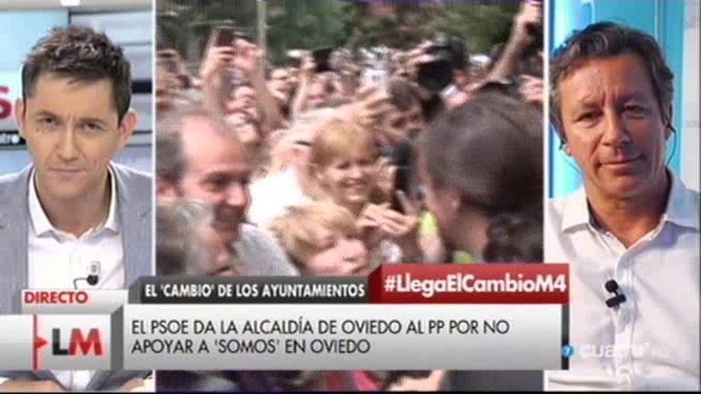 """Floriano: """"EL PSOE ha facilitado el acceso de los partidos radicales a los ayuntamientos"""""""