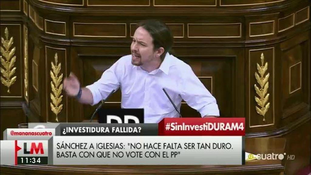Analizamos los mensajes de Pablo Iglesias a cada partido político