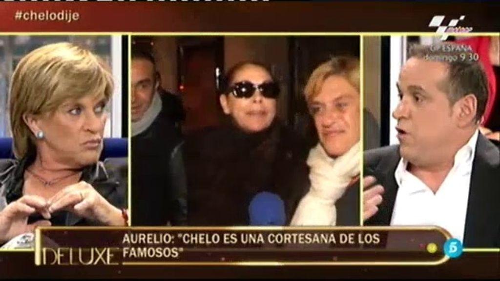 "Chelo a Aurelio Manzano: ""¡No te soporto!"""