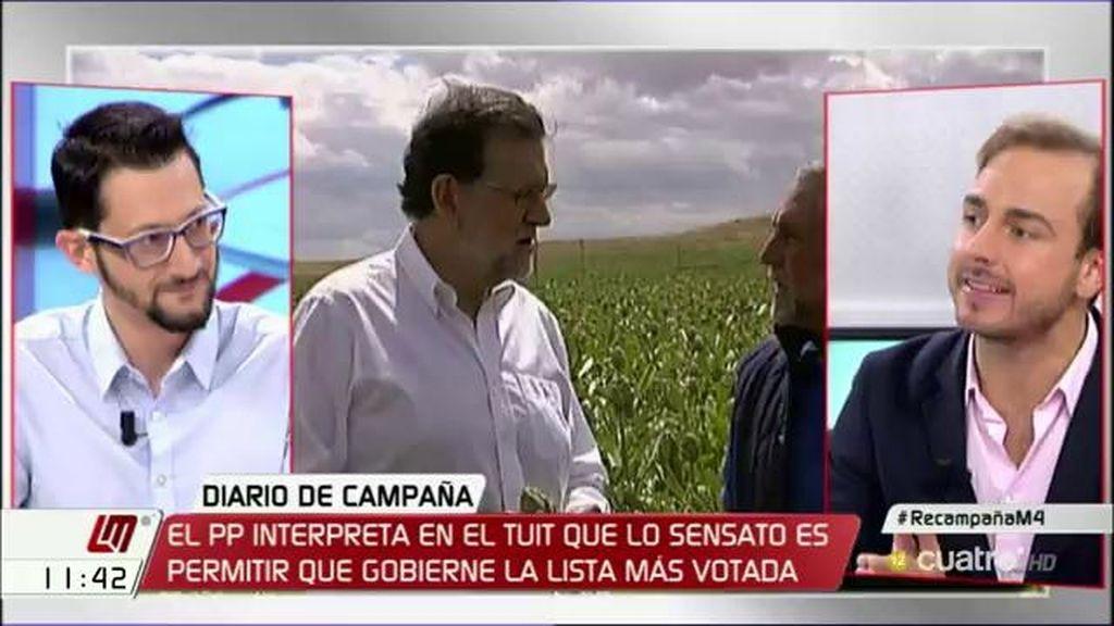 """J. Dorado: """"Quien marca quien debe presidir un gobierno son las urnas, no los despachos"""""""