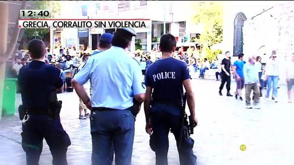 Normalidad en las calles de Grecia pese a la situación dramática del país