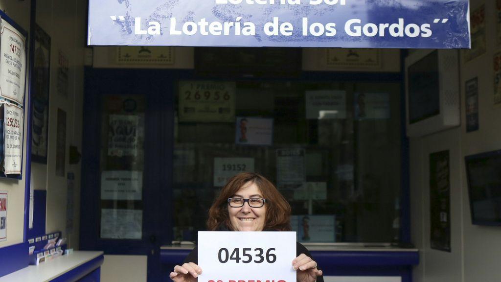 04.536, el segundo premio dotado con 1.250.000 de euros