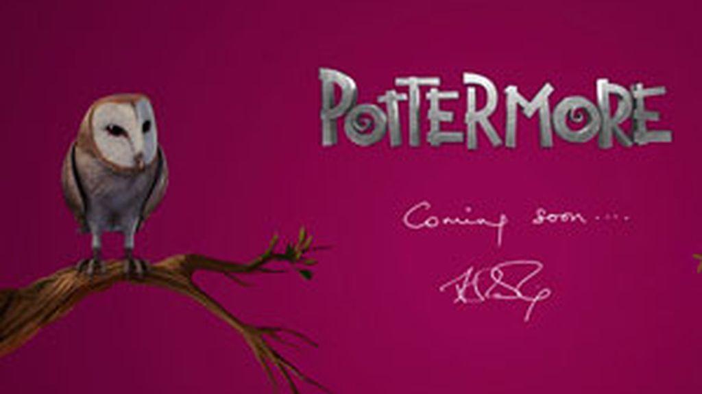 La nueva página web de la saga Harry Potter. Foto: pottermore.com